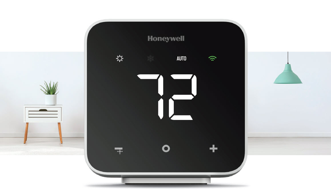 New Honeywell D6 Pro Wi-Fi Ductless Controller