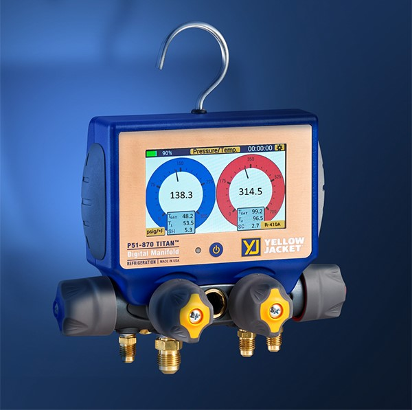Yellow Jacket HVAC P51 Titan Digital Manifold Product