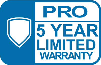 Emerson Pro 5 Year Limited Warranty