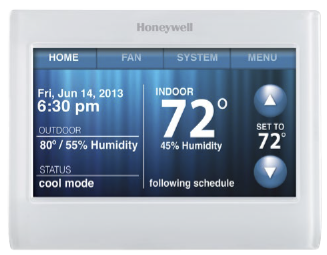 Honeywell HVAC SmartHome Wi-Fi Thermostat