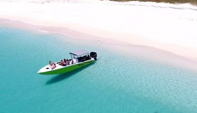 Speedboat to Tintamaree Island