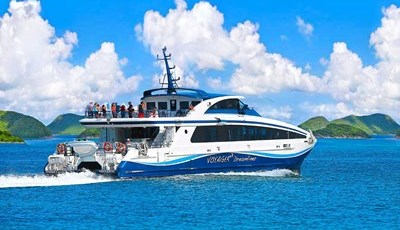 Island hopping to Anguilla or St. Barths via ferry